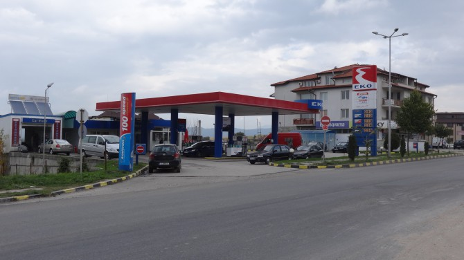 Бензиностанция ЕКО