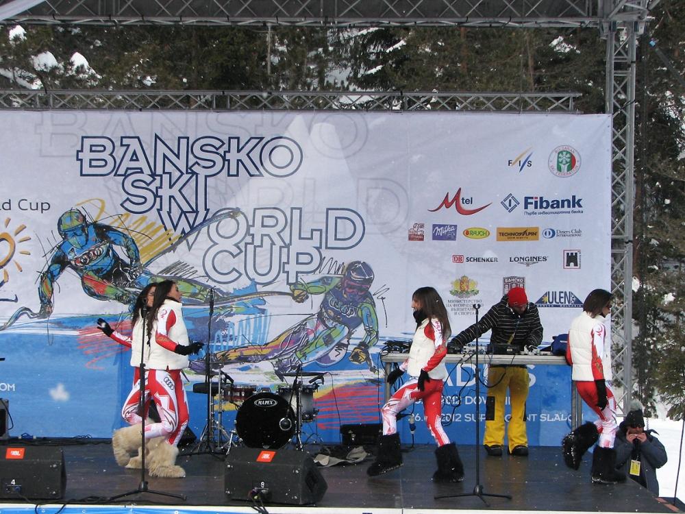 Сцена за Световната Купа по Ски