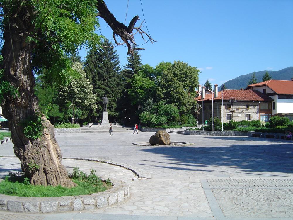 В центъра на Банско
