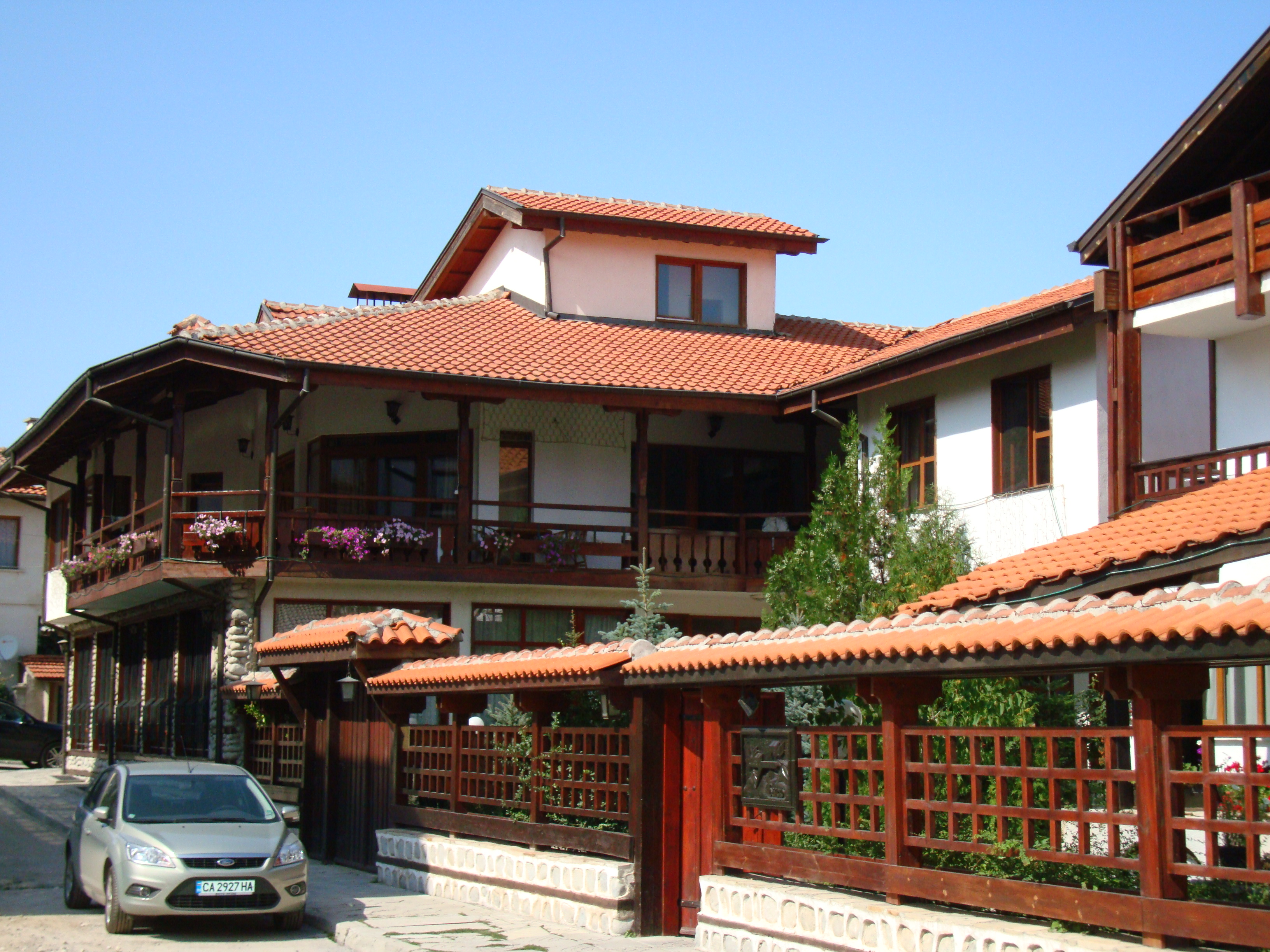 Хотелче в стария град на Банско