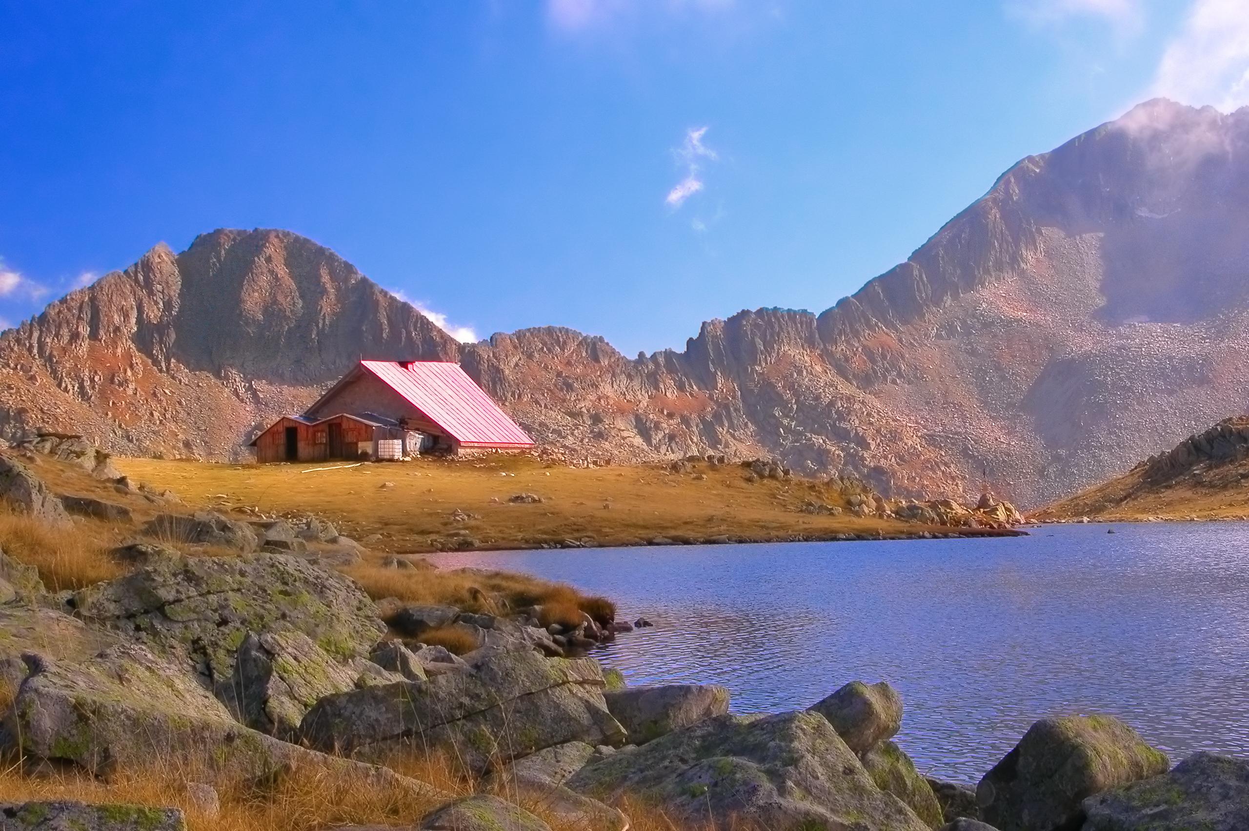 Заслон Тевно Езеро в Пирин