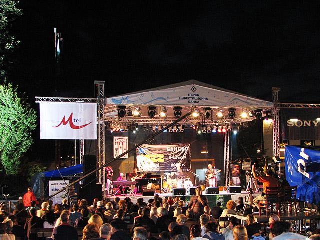 Джаз вечер в Банско