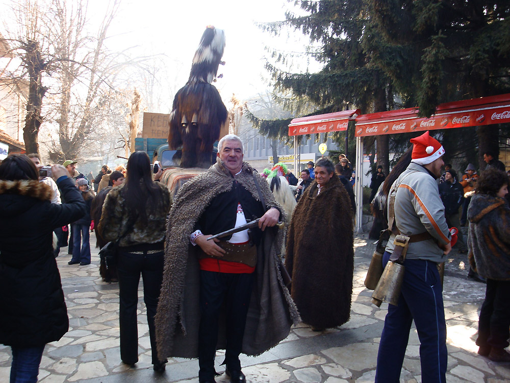 Александър Краваров на Нова Година