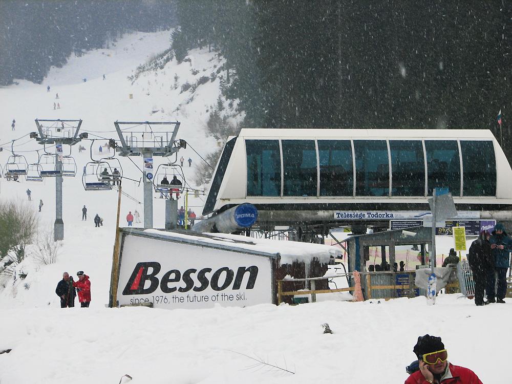 Обилен снеговалеж и лифта на Тодорка