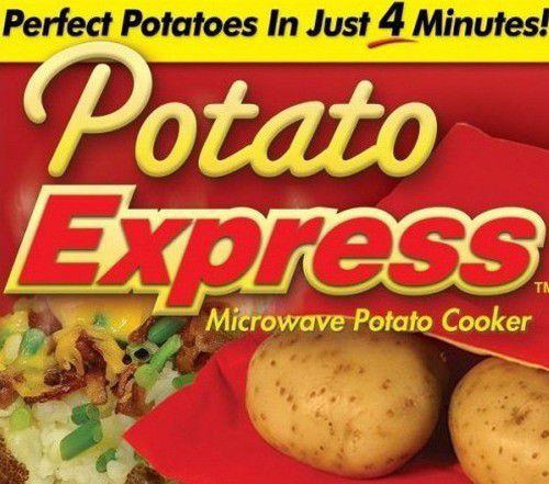 1. Снимка на Ново Хит Торбичка Potato Express Сварява Картофи за 4 мин.