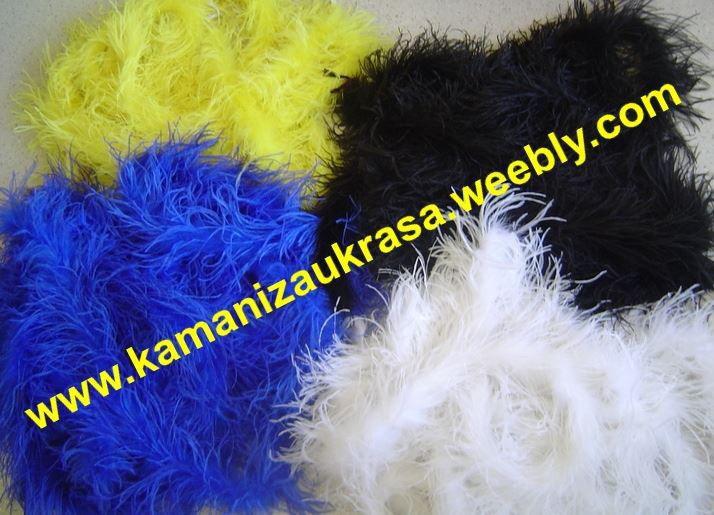 2. Снимка на Камъни за дрехи, ресни за дрехи, щраусови пера (шалове)