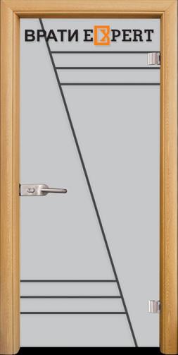 1. Снимка на Стъклена интериорна врата Gravur G 13 - 4