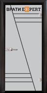 2. Снимка на Стъклена интериорна врата Gravur G 13 - 4