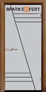 3. Снимка на Стъклена интериорна врата Gravur G 13 - 4
