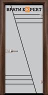 4. Снимка на Стъклена интериорна врата Gravur G 13 - 4