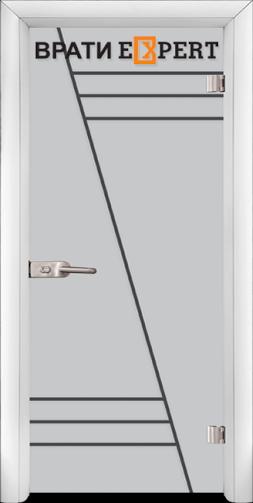5. Снимка на Стъклена интериорна врата Gravur G 13 - 4