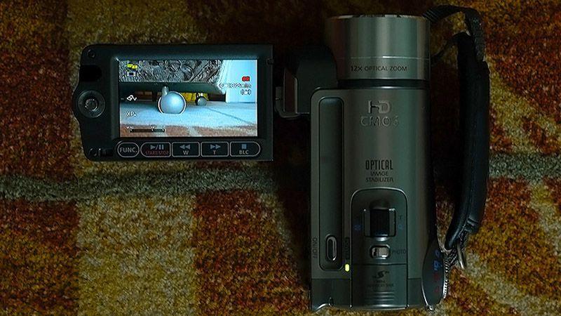 5. Снимка на Canon HF100 Нова Full HD Видеокамера Mic - in Пълен комплект