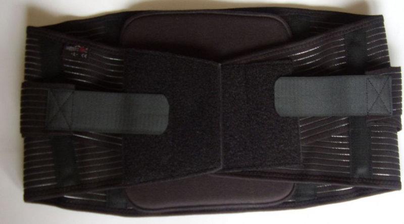 2. Снимка на Лумбостат корсет с анатомични шини - черен
