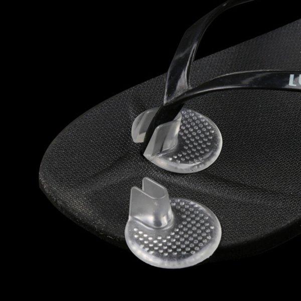 2. Снимка на Силиконови възглавнички за джапанки и чехли между пръстите